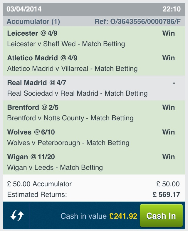 Football Accumulators