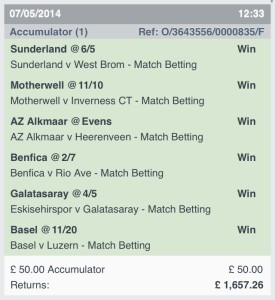 Best Accumulator Bet