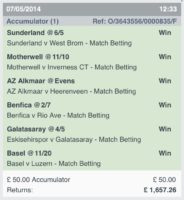 Winning Accumulators 5