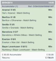 Winning Accumulators 4