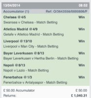 Winning Accumulators 3