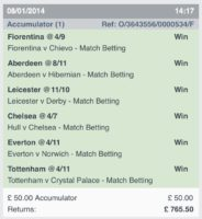 Winning Accumulators 2