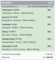 Winning Accumulators 1
