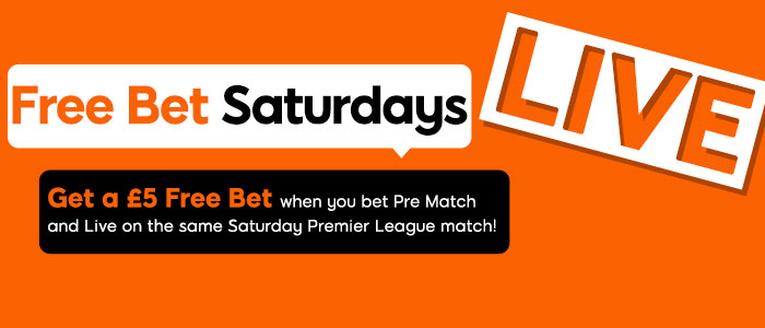 888 Sport Offer Free Bet Saturdays