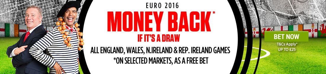 Best Sites for Euro 2016 Bets - Ladbrokes