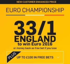 Euro 2016 Betting Offers from Betfair