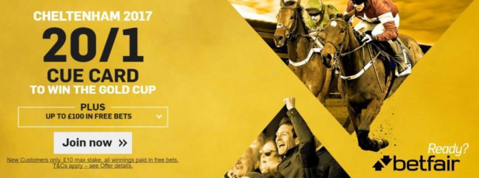 Betfair Cheltenham Betting Offer