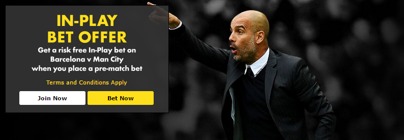 bet365 In Play betting Offer