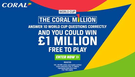 Coral World Cup Betting Offers