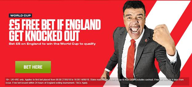 Ladbrokes World Cup Betting Offers