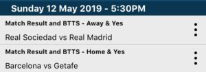 BTTS and Win Tips
