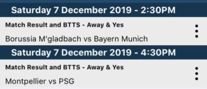 Free BTTS and Win Tips